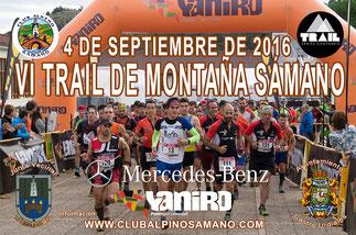 VI TRAIL DE MONTAÑA SÁMANO - Sámano, 04-09-2016