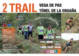 II TRAIL VEGA DE PAS TUNEL DE LA ENGAÑA - Vega de Pas, 13-09-2015