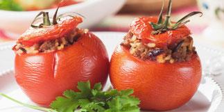 Petits légumes farcis - Recette de mai
