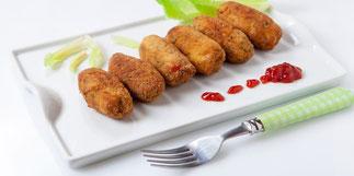 Croquettes de Porc coco sauce avocat citron vert - Recette de novembre