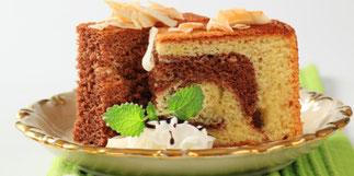 Cake marbré au boudin noir et aux pommes - Recette de décembre