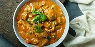 Curry de Filet mignon de porc en cocotte au lait de coco