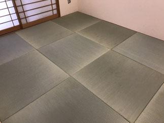 横浜 港南区の畳屋さん 内藤畳店 目積畳施工例