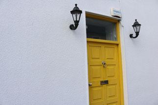 お客様ご自宅玄関の写真