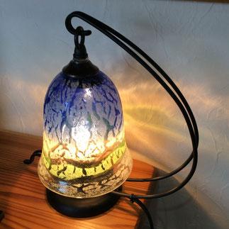器と珈琲 Lien りあん のギャラリー: 琉球ガラス 稲嶺盛吉氏の作品