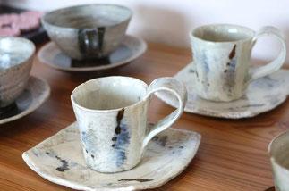 器と珈琲 Lien りあん のギャラリー: 益子焼