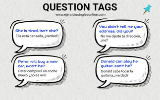 Questions tags