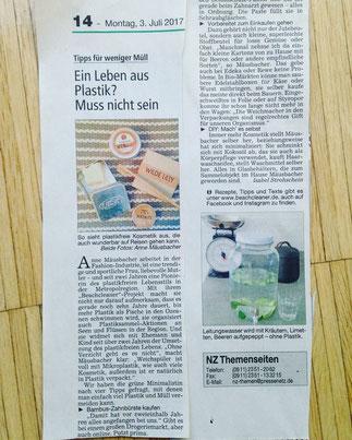 Nürnberger Zeitung 03.07.2017