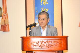 神奈川県家具協同組合、神谷光信理事長の挨拶