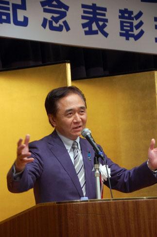知事就任以来、毎年ご挨拶される黒岩神奈川県知事