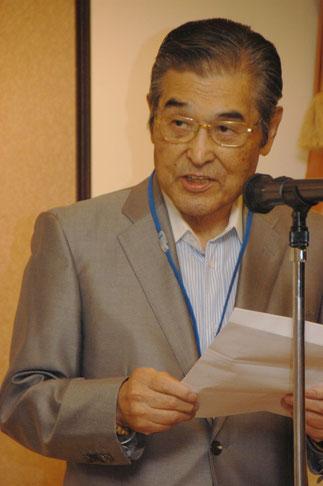 神谷光信理事長の挨拶