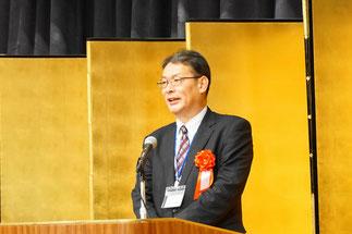 商工中金横浜支店片山雅史支店長の祝辞