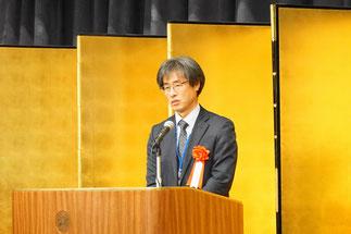 神奈川県産業労働局長の高澤幸夫氏の乾杯ご発声