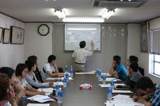 産業技術センター 廣瀬辰男氏の講義
