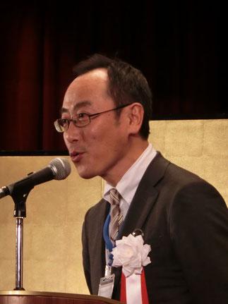 商工中金横浜支店長木戸口昌己氏が乾杯
