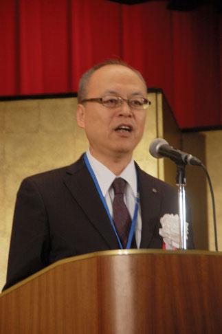 神奈川県中小企業団体中央会の西村明夫専務理事