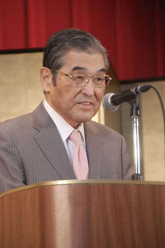 神谷光信理事長の主催者挨拶