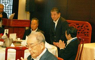 新たに理事に選出された丘崎信幸氏。(前監事)