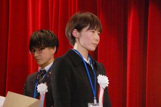 1級技能士合格の石戸谷紗苗さん(秋山木工))