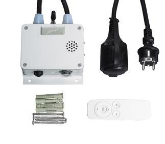 Bluetooth-Dimmer für Infrarot Heizung bis 3 kW