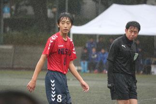 MF高柳隼蔵。守備的ボランチ。攻撃の起点。