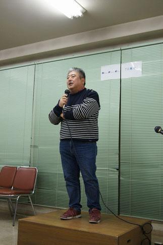 34期藤谷健氏、朝日新聞ディレクターのスピーチ