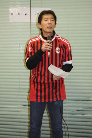 31期谷雅史氏は、SHA49ersの活動報告を行う。