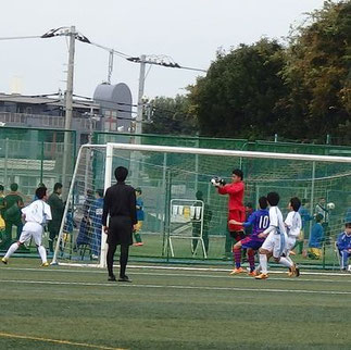 GK野田のキャッチ。