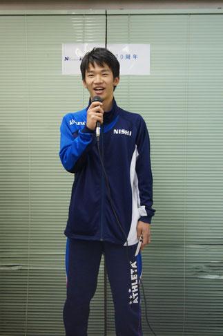 見事MVPに輝いた71期小澤卓也のスピーチ。