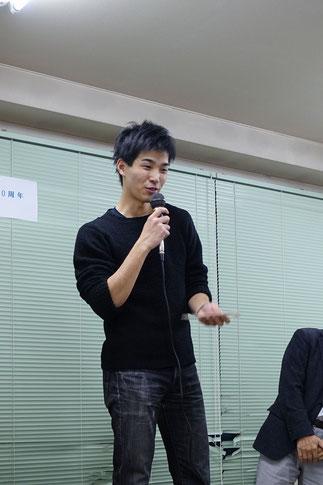 65期上野晃輔氏、若手OBとして大活躍。特別賞受賞。