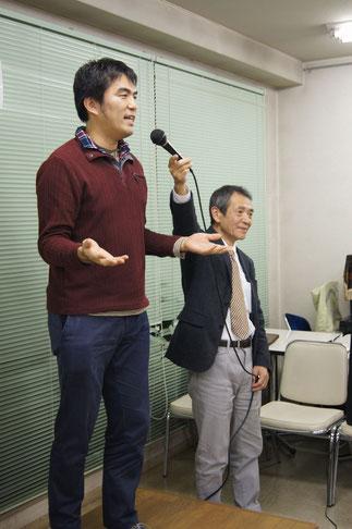 52期森薗宏太氏の三三七拍子で心を一つに