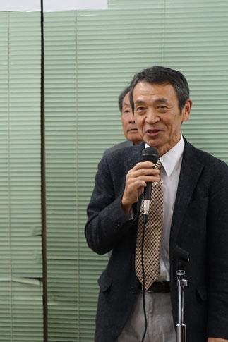 18期木原秋好元副会長の名司会で進行しました。