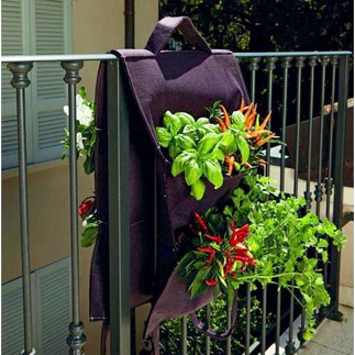 balkonbakken, balkon moestuin,groenten kweken, kruiden kweken, fruit kweken, balkon railing,  balkon ontwerp, moestuin bak, hangende moestuin zak