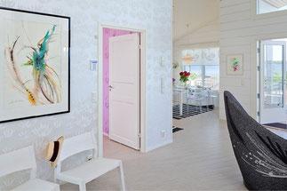 Wohnküche im Blockhaus -  © Blockhaus Kuusamo