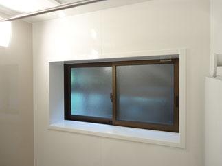 改修後の窓