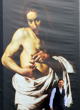 Coincidentally the exhibition 'Beyond Caravaggio' was on at the RSA in Edinburgh during this project. A reminder of the real masters.