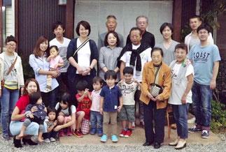「おめでとうございます。」おばあちゃま、米寿のお祝。土岐市駄知からお越しのT様。いつも御ひいき賜りありがとうございます。