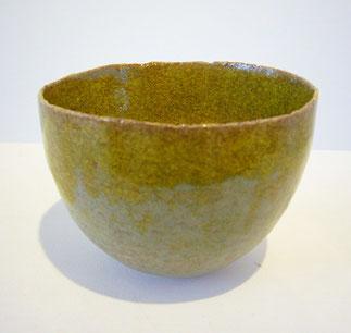 Bol (vert mousse) #7  (2012) / H: 6.5x Ø9.5cm / ceramic(grès), glaze / sold