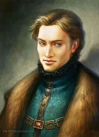 König Arin - König von Angelion (Quelle: Kir-Tat auf DeviantArt)