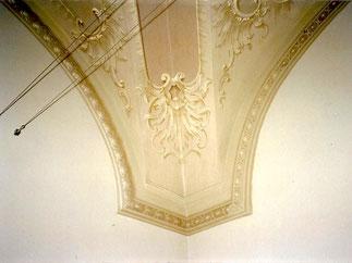 Ripristino decoro a volta per Ministero dei Beni Architettonici e Artistici