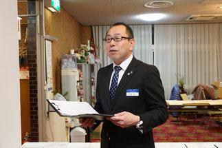 チェックリーダー 内海 信一 香川県東讃地区地区長