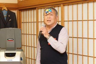 中締め挨拶:萩池義信副会長