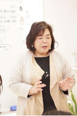 六車瑠愛 幹事の開運のポイント説明