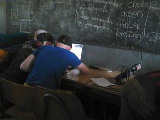 PC-Unterricht an der Mseto