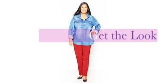 Damen jeanshemd Größe 52