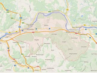 Schlüsseldienst im Bezirk Rheinfelden