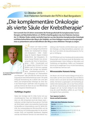 K-Journal Krebs Ausgabe 2/2013, Seite 42