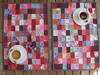 Tischset aus Patchwork-Technik.