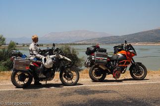 Am fast vollständig ausgetrockneten Avlan Gölü