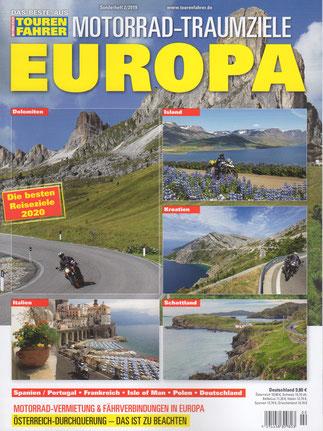 "TF-Sonderheft ""Motorrad-Traumziele EUROPA"", September 2019"